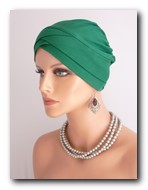 TV21 Turban de vascoza verde